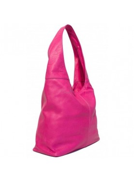 Borsa A Spalla In Vera Pelle Made In Italy
